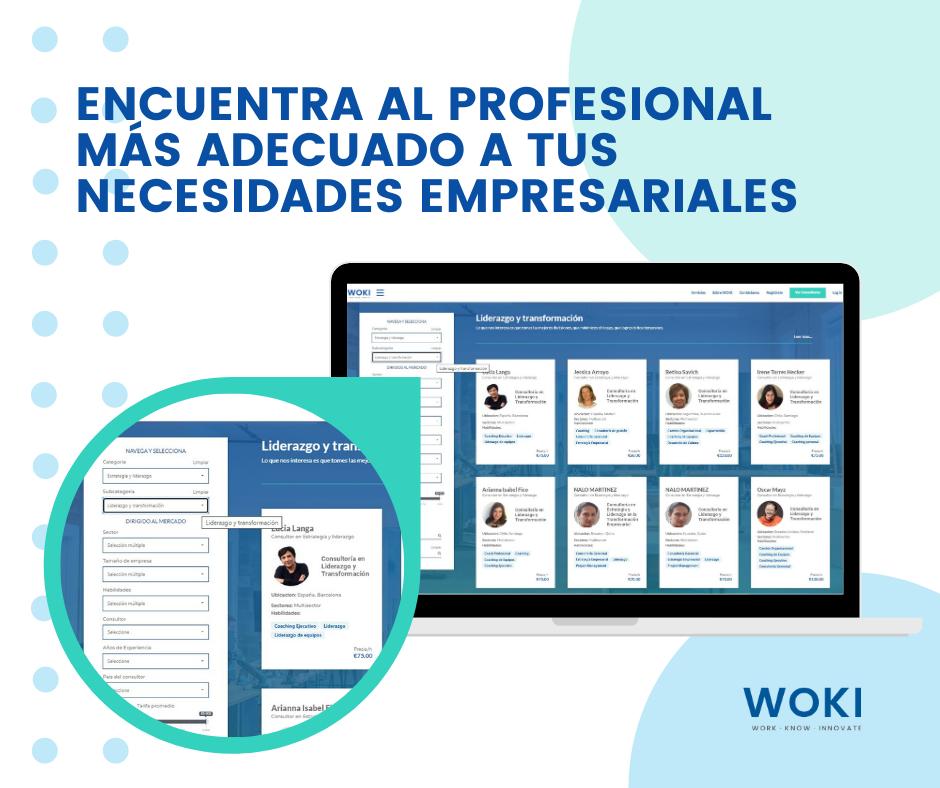 Foto de Woki la 1ªplataforma de habla hispana para contratar