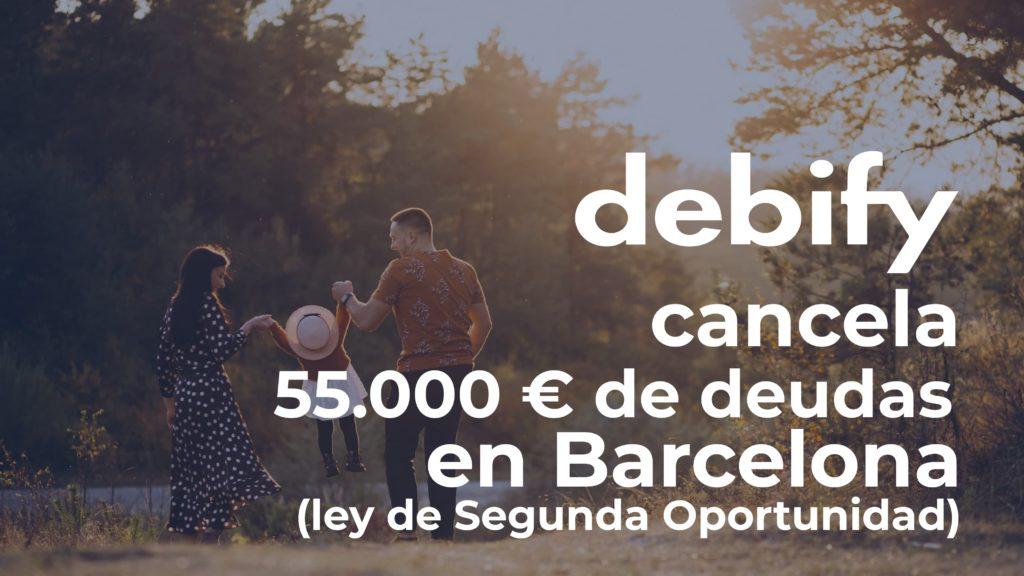 Foto de debify cancela 55.000 € en deudas en Barcelona