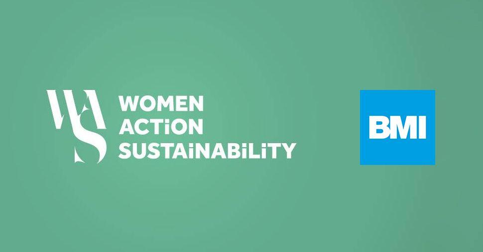Foto de BMI y Women Action Sustainability firman una alianza para